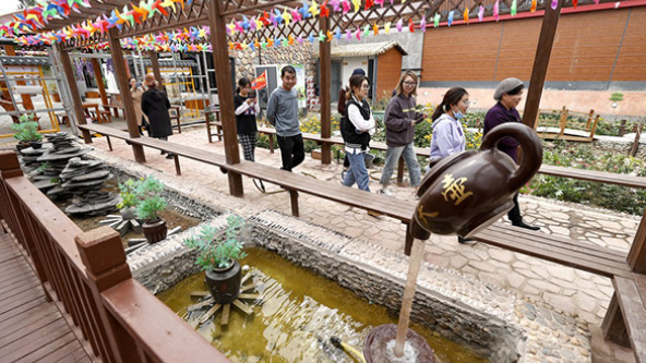 Villagers share courtyards to boost rural tourism in China's Ningxia